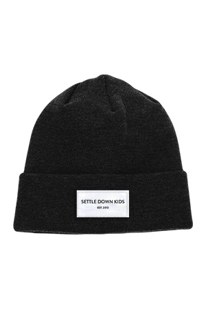 Est 2013 Patch Beanie (Black)