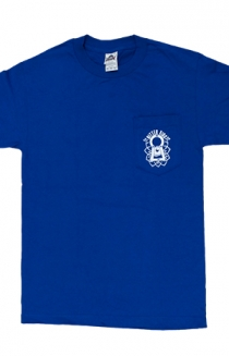 Lock Up Tee (Royal Blue) + Monster House Re-Release Digital Download