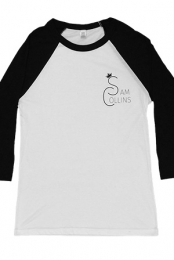 Sam Collins Baseball Tee (Black)