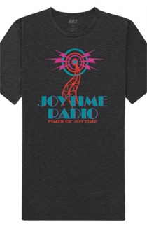 Radio Tee (Heather Charcoal)