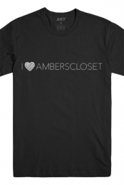 I Heart Amberscloset Tee (Black)