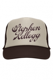 Logo Trucker Hat (Brown)