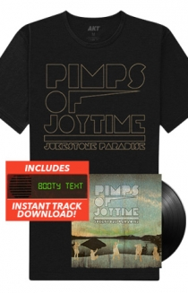 "Jukestone Paradise LP + Tee + Instant Download Of The ""Booty Text"" Track"