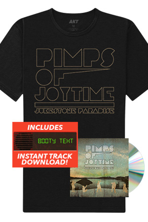 "Jukestone Paradise CD + Tee + Instant Download Of The ""Booty Text"" Track"