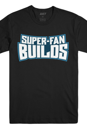 Super-Fan Builds Tee (Black)