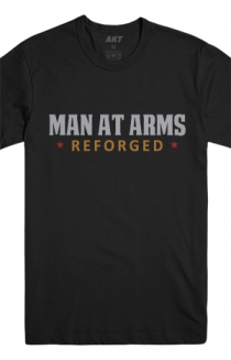 Man At Arms Reforged Tee (Black)