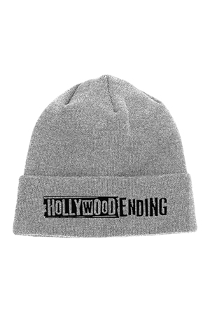 Logo Winter Knit Cap (Heather Grey)