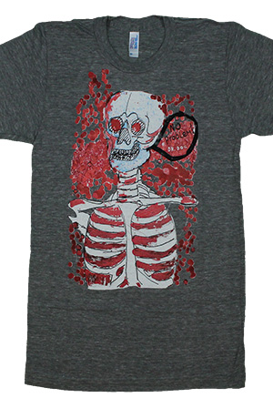 Skeleton Tee (Gray)