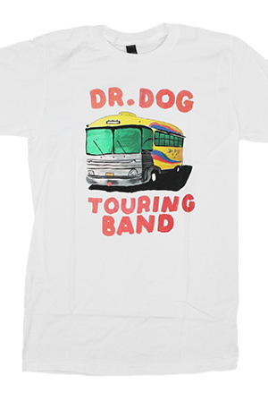 Touring Bus Tee (White)
