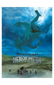 Signed Heavy Meta 18x24 Poster