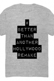 Hollywood Remake Tee (Heather Grey)