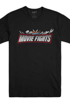 Movie Fights Tee (Black)