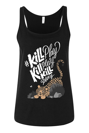 Kill Play Girl's Tank