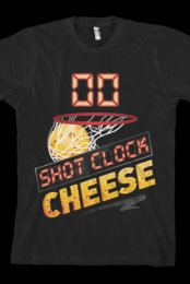 Shot Clock Cheese Tee