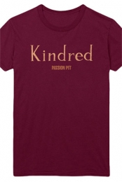 Kindred Tee (Burgundy)