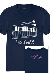This Is War Tee (Navy)