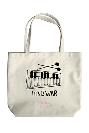 This Is War Tote (Natural)