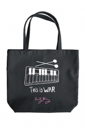 This Is War Tote (Black)