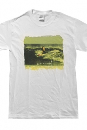Surfing Crewneck Tee (White)