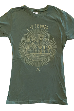 Town Girls Tee (Army Green)