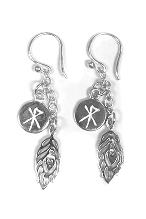 Earrings (Silver)