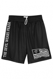 Flag Basketball Shorts (Black)