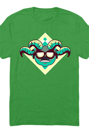 Wrath of the Lion Tee (Kelly Green)