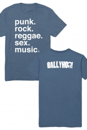 Punk And Rock And Reggae Tee