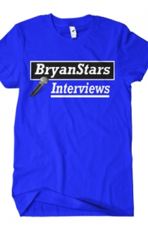 BryanStars Interviews Tee (Blue)