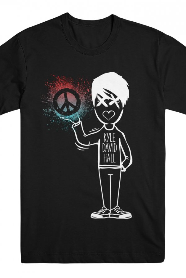 KDH Peace Tee (Black)