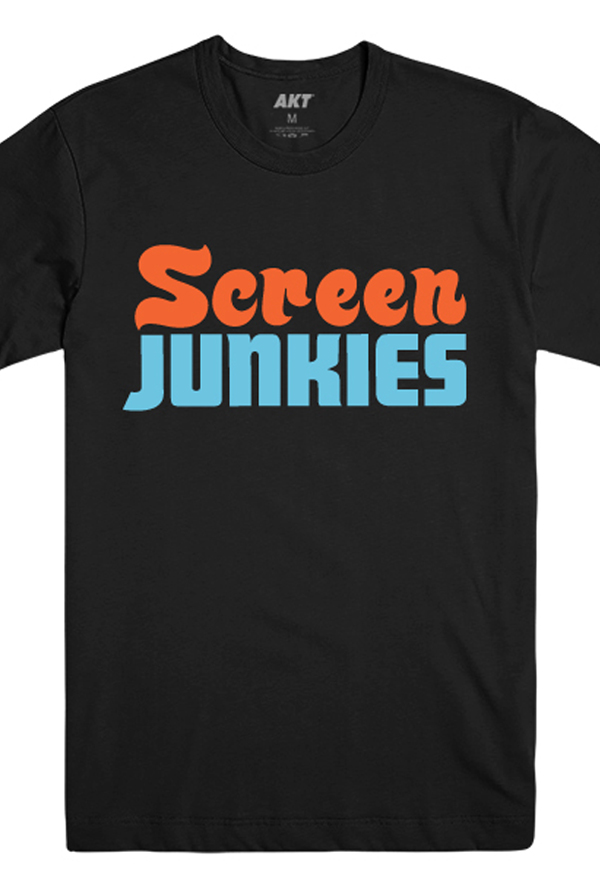 Screen Junkies Logo Tee (Black)