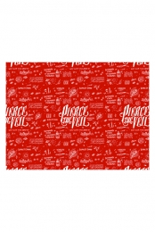 Divine Zero Wrapping Paper (Red)