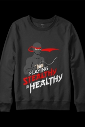 Stealthy is Healthy Crewneck