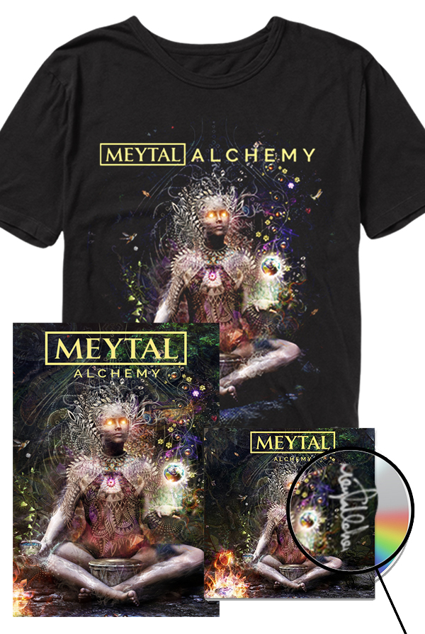 Signed Alchemy CD + Tee + Poster Bundle