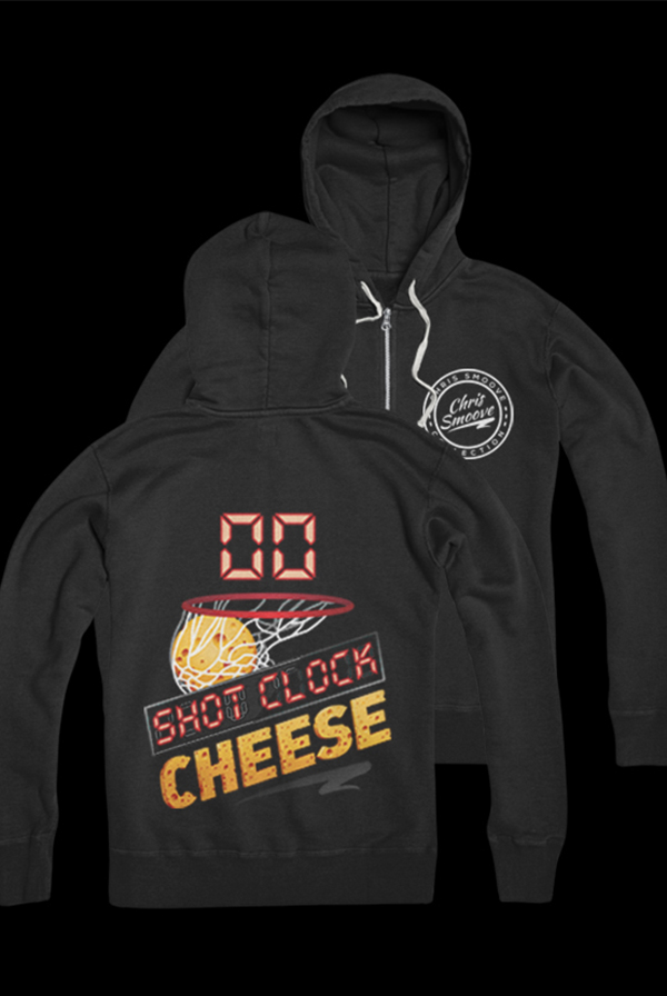 Shot Clock Cheese Zip Up