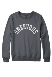 Snervous Collegiate Crewneck (Charcoal)