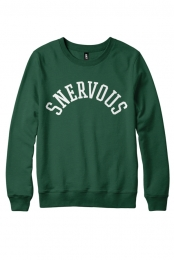 Snervous Collegiate Crewneck (Dark Green)