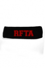 RFTA Headband (red on black)