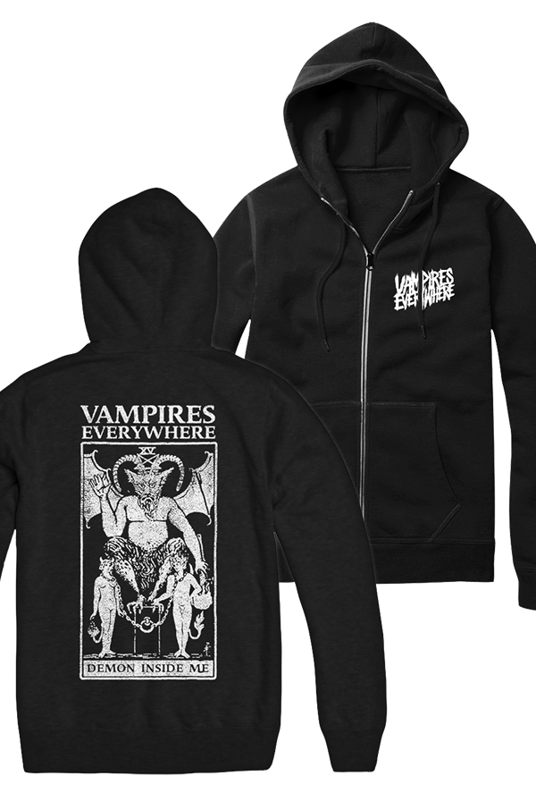 Demon Zip Up Hoodie