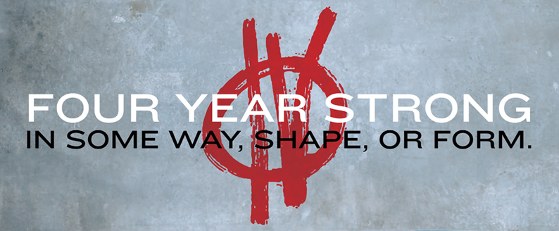 Four Year Strong Merch Online Store On District Lines