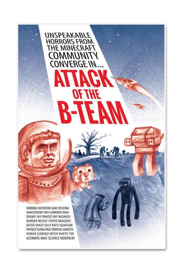 B-Team Poster 11x17 Accessory - Technic Pack Accessories