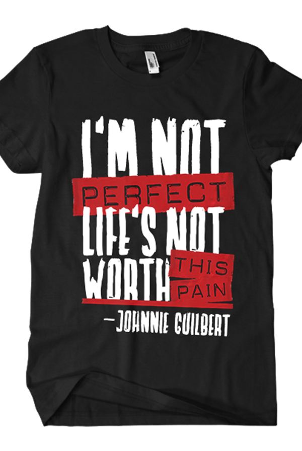 I'm Not Perfect Tee (Black)