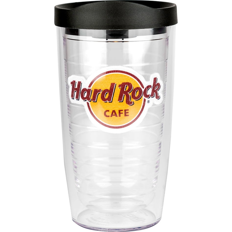 Hard Rock Tervis Tumbler with Lid 16oz 0