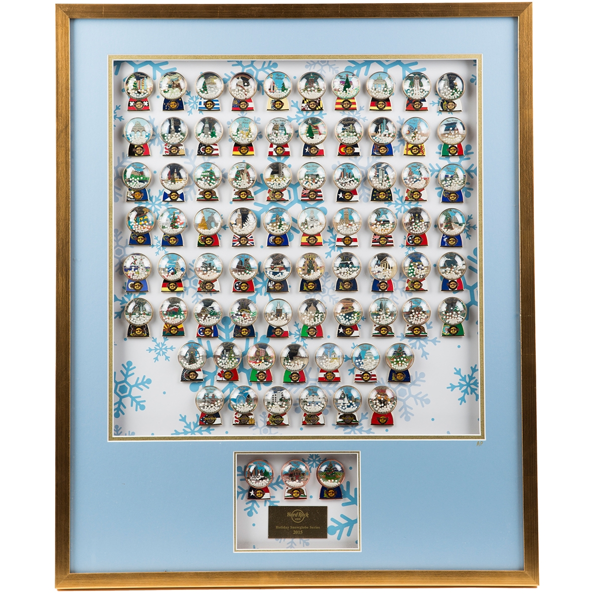 Holiday Snowglobe Frame Set 15  0