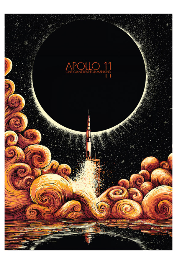 Apollo 11 Art Print 0