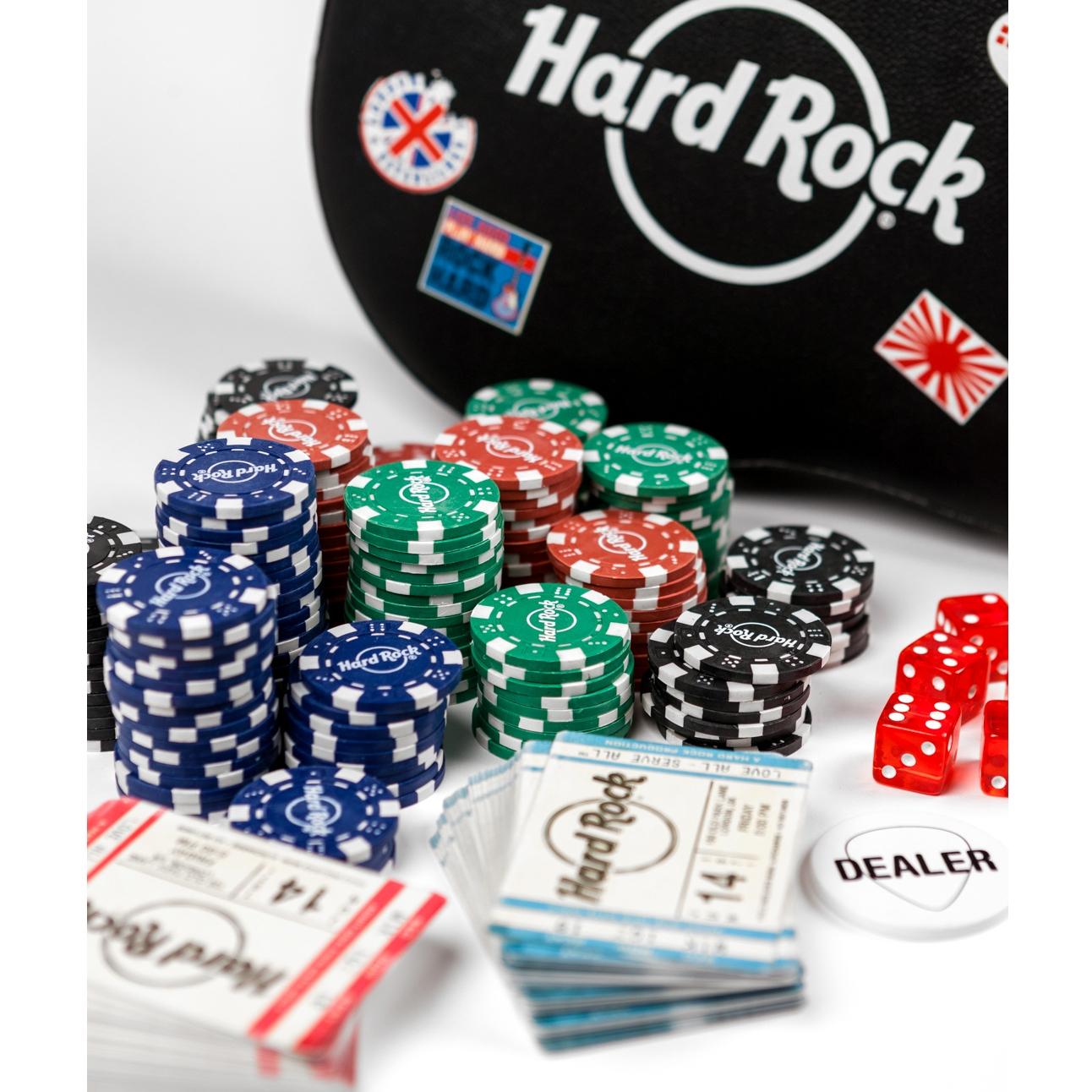 Guitar Case Poker Set 2