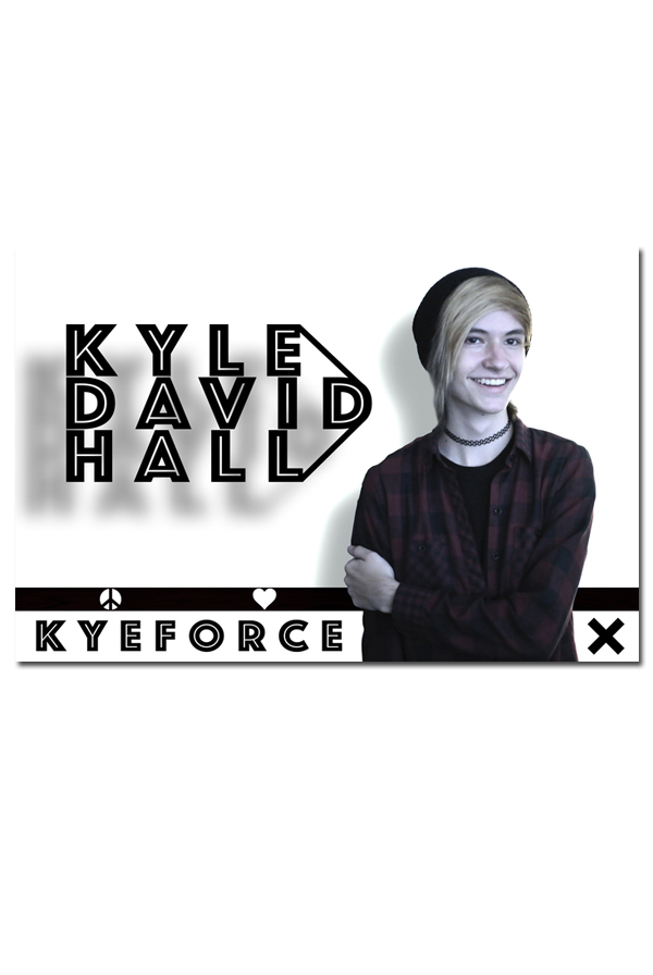 Kyeforce 11x17 Signed Poster