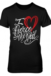 VDAY Girls Tee (Black)