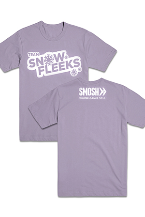 Team Snow Fleeks Tee (Orchid)