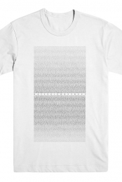 Lyric Tee (White)
